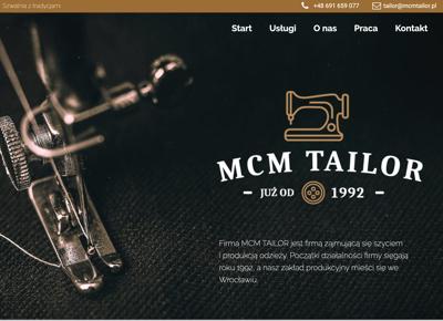 mcm tailor